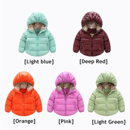 Wholesale Chinese Clothes For Boys - Baby clothing winter outwear down coat chinese style winter jacket girls coats for toddlers boys kids fashion jackets 700