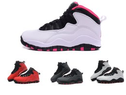 Wholesale New vivid pink Retro X Womens basketball shoes women outdoor thletic trainer sports footwear s sneaker