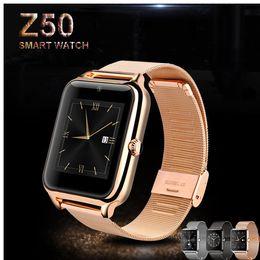 Wholesale Smart Watch Smartwatch Telefono Orologio SMS Relogios Masculine Sport Relogio Inteligente Android Bluetooth DigitalWatch Mp3 Player bracelet