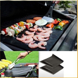 Wholesale 2016 Hot New Outdoor barbecue grill mat mat mat creative outdoor barbecue grill grilled sticky mat