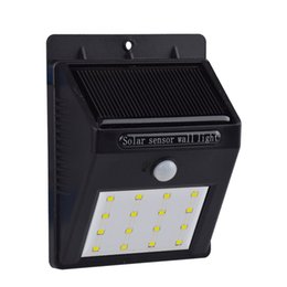 Wholesale sl e Bright Solar light Solar Powered Outdoor Motion Active LED Lights for Garden Patio Fencing Path Lighting