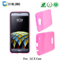 For LG X CAM TPU jelly Glossy case cover phonecase free shpping