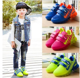 Children's shoes with light spring baby boys girls shoes chaussure led enfant child fashion breathable boys sneakers