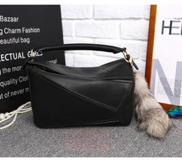 must have~ w331 many colors genuine leather shoulder handbag navy purple orange black red blue 29*19.5*15cm