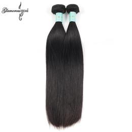 Wholesale Glamorous Malaysian Virgin Hair Straight Bundles Malaysian Straight Human Hair Extensions B Best Malaysian Remy Human Hair