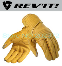 Wholesale 2016 New Netherlands REV IT Abbey Road motorcycle revit leather motorbike riding gloves can touch Mobile phone screen have colors