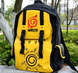 NEW Anime NARUTO Kuramakyuubi Backpack Uzumaki Naruto School bag,Child Best Gift