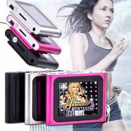 Wholesale 8GB th Generation Clip Digital MP4 Player Digital inches touch Screen FM Radio Video Music Mp3 E Book Games Photo R