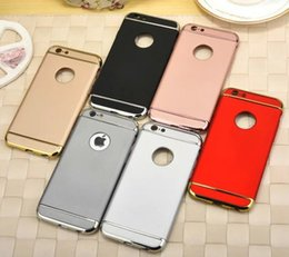Wholesale 2016 Mewest Ultra Thin Slim Aluminum Frame Acrylic Plastic Hybrid Back Cover Case Shell For Apple iPhone S Plus inch MOQ