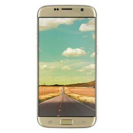 Wholesale Cheap G WCDMA Goophone S7 EDGE inch Curved Screen HD Android Quad Core MTK6580 GB GB MP Camera Nano Sim Smartphone