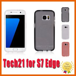 Wholesale Tech Evo Frame S7 Edge Mesh Check Case Mobile Cover Shockproof for Samsung Galaxy s6 s7 s6 edge s7 edge