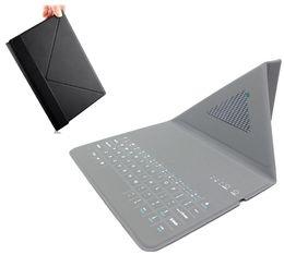 Wholesale iPad keyboard case ultra thin slim bluetooth smart wireless foldable keyboard leather tablet case for ipad mini air