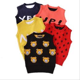 2016 1-3Y New Spring autumn baby cardigan boy's sweater vest girls waistcoat outwear winter coat children clothes