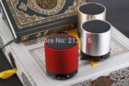 Wholesale Holy Al Quran digital MP3 player mini speaker Word By Word Reciters Voices Translations FM Radio