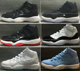 Wholesale 2016 New Air Retro s Basketball Shoes Concord Bred Space Jam Legend Blue Basket Ball Sneakers Women Men High Top Boots Retros XI