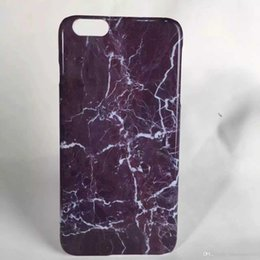 Wholesale Marble Veined PC Cellular Case Stone Design Hard Shell Granite Texture Protective Cover for iphone s plus quot quot cover