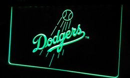 Wholesale LS340 g Los Angeles Dodgers Baseball Neon Light Sign jpg