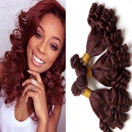 Burgundy red hair color samples burgundy red hair color samples 99j brazilian aunty funmi hair weave weft bundles top color wine red bouncy curly human hair pmusecretfo Choice Image