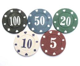 Wholesale Texas Holder em Baccarat Blackjack Clay Composite chips Gram Poker chips choose from color