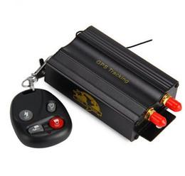 Dispositivos anti-robo de coches en venta-TK103B GPS del coche GPS GSM GPRS del coche del vehículo en tiempo real antirrobo dispositivo de alarma de seguimiento de localización con la antena de control remoto