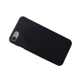 Wholesale soft touch and thin cell phone back cover for iphone plus most fashion with best quality marble PC