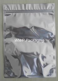 Bolsas de embalaje reutilizables en venta-DHL 22 * 31cm paquete al por menor del papel de aluminio / volver a sellar claras de la válvula de la cremallera al por menor plástico Embalaje Paquete Bolsa, Zip Lock Ziplock bolsa de