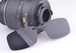 Descuento lentes polarizadas Alta calidad Clip polarizado en las gafas de sol de conducción del tirón de lente anti-UVA anti-UVB para las mujeres unisex