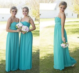 Canada 2016 Cheap Simple Flow Robes de demoiselle d'honneur chérie chérie Beaded Country Style Backless Hunter vert enceintes plus Robes de demoiselle d'honneur Taille beaded backless bridesmaid chiffon for sale Offre