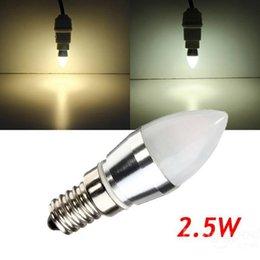 Wholesale 2015 New E14 L23 A W Warm White White LED Aluminium Die Casting Bulb V