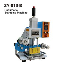 ZY-819-B Pneumatic Stamping Machine,leather LOGO printer,pressure words machine,name card stamping machine(220V 50Hz)