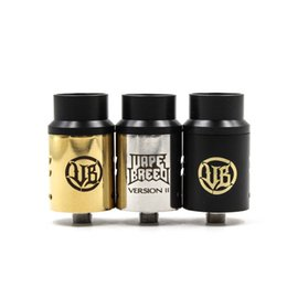 Wholesale Vape Breed Competition Atty V2 RDA Philippines Dual Post Atomizer New Design Coil Holes Adjustable Airflow With Wide Bore Drip Tip