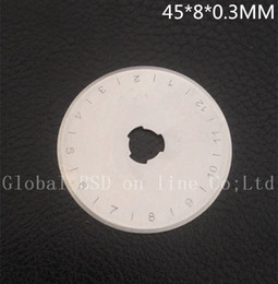 50 pices of 45MM ROTARY CUTTER BLADES fits,Olfa, Fiskars, DRITZ, Clover & more rotary cutter blades 45MM
