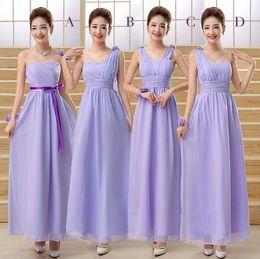 Wholesale 2016 bridesmaid dresses Light purple champagne Women s dress bridesmaids dresses for women bridesmaid bridesmaid dresses long All code