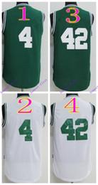 Wholesale boston celtics isaiah thomas green al horford green Rev Stitched Basketballl Jerseys free drop shipping size S XL
