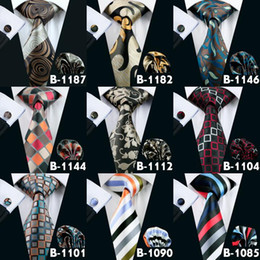 All Kinds Of Mens Tie 47 Styles Neck Tie Set For Men High Quality Adult Ties Brand Tie Hanky Cufflinks Set Free Shipping