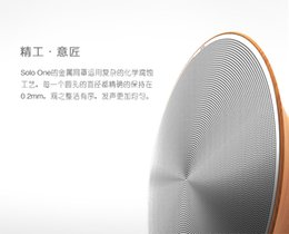 Wholesale Soloone solo bluetooth wireless NFC touch wireless bluetooth speakers character art high power speakers