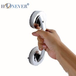 Wholesale Cheap Pull Push Silver Suction Cup Bathroom Door Handles Safety Grip Rail