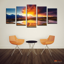 Large Wall Pictures Colorful Clouds Landscape Print Painting On Canvas Wall Art Home Decor Living Room Canvas Print Painting No Frame