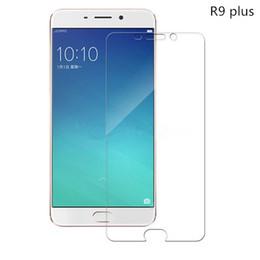 Promotion oppo chinois Oppo R9 plus Protecteur d'écran en verre trempé transparent 2.5D Protecteur d'écran en arête ronde pour les marques chinoises pour Iphone pour Samsung galaxie - YH0143
