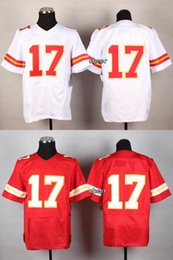 Wholesale Newest Men s KCC Avery White Red Elite Jerseys Football Jerseys Good quality