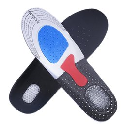 Wholesale Free Size Unisex Orthotic Arch Support Shoe Pad Sport Running Gel Insoles Insert Cushion for Men Women