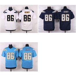 Wholesale Men s American Football Jerseys Chargers Hunter Henry Stitched Elite Jersey White Navy Powder Blue Mix Order Drop Shipping Available
