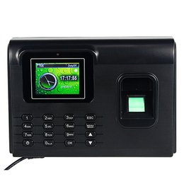 Wholesale Advanced Biometric Technology And Rfid Series Intelligent Fingerprint Time Attendance Access Control F6134A