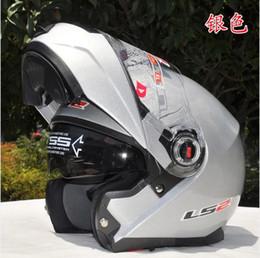 Wholesale ECE LS2 undrape face helmet Full Face Helmet with composite materials matte black Motorcycle helmet Motorcross helmet Ls2 FF386 helmet