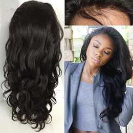 7a Brazilian Human Hair Body Wave Wigs Glueless Long Full Lace Wigs & Lace Front Wigs With Baby Hair For Black Woman