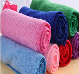 Wholesale cm new color microfiber towel sterile towels Microfiber Cleaning Towel Car Washing Nano Cloth Dishcloth Bathroom Clean Towels