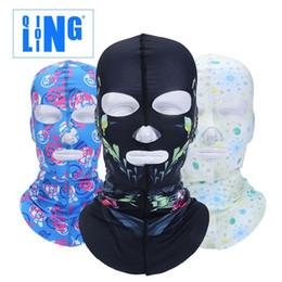 Nouvelles sportives populaires Motorcycle Riding Hood Masque visage forêt piscine solaire Gini usine six lignes à quatre broches à partir de lignes de capot fournisseurs