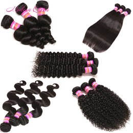 8A Mongolian Kinky Curly Human Hair Weave Mongolian Straight Body Wave Loose Deep Wave Hair Weft Cheap Mongolian Natural Hair Extensions
