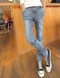 Wholesale-Recommand Desinger Jeans Spring New Arrival Mens Zipper Style Jeans skinny denim harem pants personality skinny jeans men