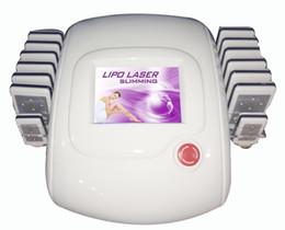 635-650nm Diode Lipo Laser Lipolaser Slimming Machine   Lipo Laser For Sale